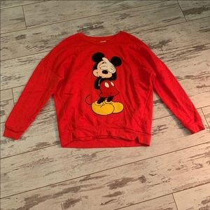 disney mickey mouse long sleeve